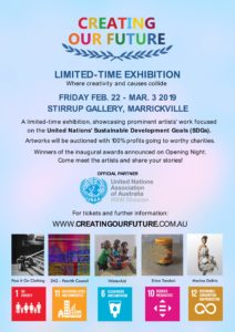 Creating Our Future Exhibition @ Stirrup Gallery