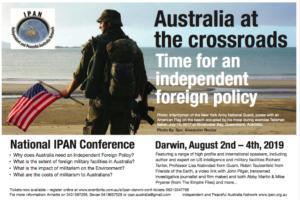 IPAN CONFERENCE 2 - 4 AUGUST 2019 - DARWIN @ Darwin