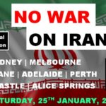 Global Day of Protests - No War on Iran! @ State Library
