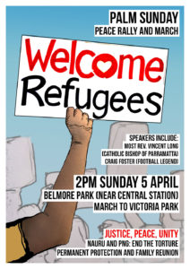 PALM SUNDAY RALLY @ Belmore Park
