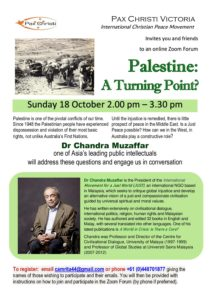 Palestine: A Turning Point? @ Online