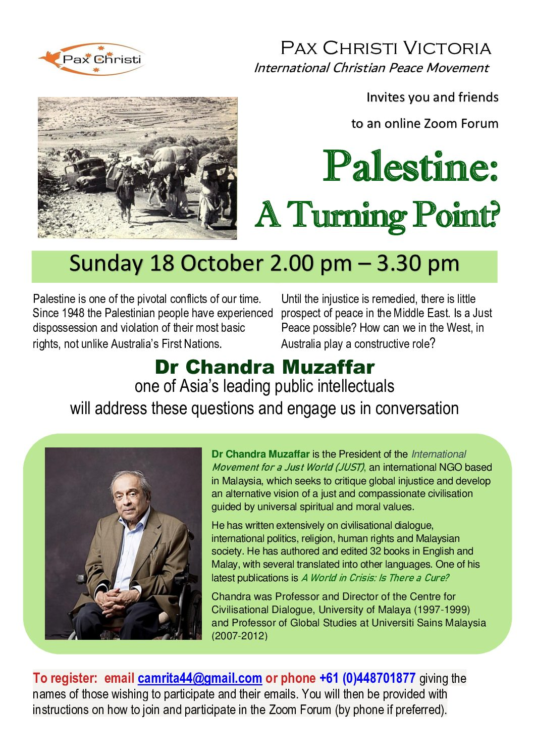 Palestine: A Turning Point?