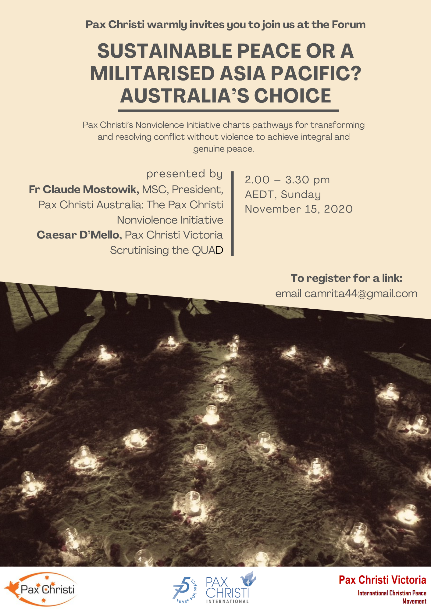 Sustainable Peace or a Militarised Asia Pacific? Australia's choice.... @ Online